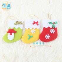 Santa snowflake Christmas stockings Christmas decorations Christmas gifts gift bags