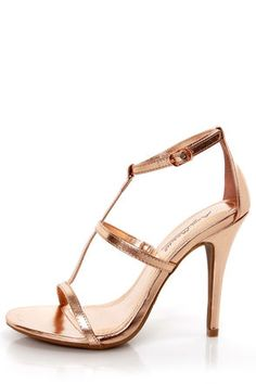 trendy rose gold heels<3 Get 7% Cash Back http://www.studentrate.com/itp/get-itp-student-deals/lulu-s-Student-Discount--/0