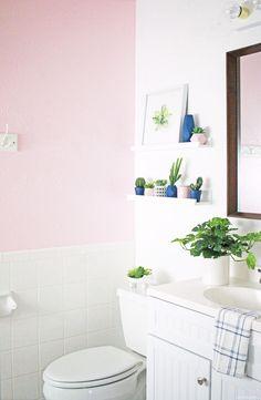 This small bathroom