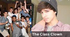 The Class Clown | What Stereotype Boy Would You Fall For?