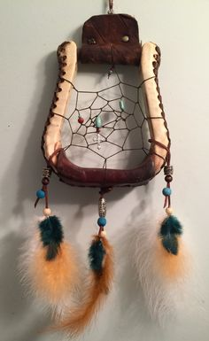 Dreamcatcher Western Stirrup Horse Tack Dream by FogHollowStudios