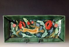 Running Hare Pottery by Mary Philpott :: Verdant Tile :: Tableware