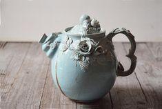 Alice im Wunderland Teekanne  Steingut-Teekanne mit von lofficina