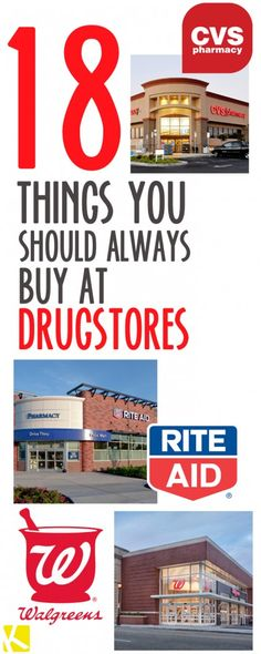 18 Shocking Things You Should Always Buy at Drugstores - The Krazy Coupon Lady Save Your Money, Ways To Save Money, Money Tips, Money Saving Tips, Big Money, Tips And Tricks, Planning Budget, Extreme Couponing, Couponing 101