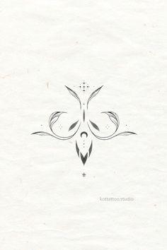 Small Hand Tattoos, Little Tattoos, Tattoo Skin, Chest Tattoo, Mandala Tattoo Design, Tattoo Designs, Dots To Lines, Petite Tattoos, Sword Tattoo