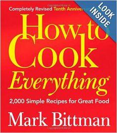 The Culinary Dozen: 12 Must Have Cookbooks