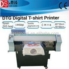 HOT! digital t shirt printer for promotion gift printing,cheap direct to garment printer $1000~$8000