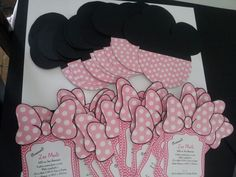 Minnie Mouse invitaciones                                                                                                                                                                                 Más