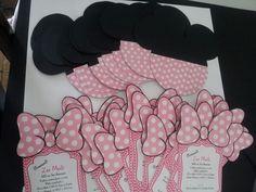 Minnie Mouse invitaciones