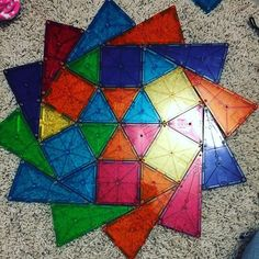 My favorite toy that cora has is hands down magna tiles. Although most of the time it involves me furiously trying to construct something cool before she knocks it down. If you don't have these check them out! But buy the big box! Worth it to be able to build more. #magnatiles