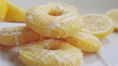 lemon cake donuts recipe