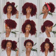 Transitioning Series More Natural Hair Transitioning Styles Third video on our transitioning series. In this video I'll share even more natural hair transitioning styles tips. Crotchet Braids, Crochet Braids Hairstyles, African Hairstyles, Cute Hairstyles, Braided Hairstyles, Hairstyles Videos, Wedding Hairstyles, Curly Crochet Hair Styles, Crochet Braid Styles