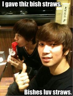 MBLAQ Mir and G.O