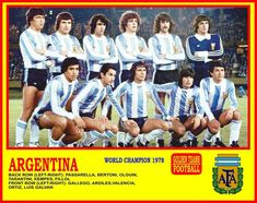 Back Row, Front Row, Argentina Football, Team Photos, Football Team, Super Mario, The Row, Champion, Baseball Cards