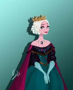 Elsa, Queen of Arendelle by djeffers.deviantart.com on @DeviantArt