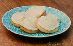 The Café Sucré Farine: Lemony Sugar Cookies w/ Lemon Cream Cheese Icing