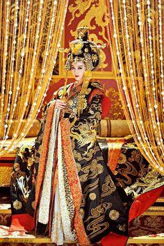 Film China, Wu Zetian, The Empress Of China, Fan Bingbing, Hanfu, Chinese Style, Girl Power, Art Girl, Sari