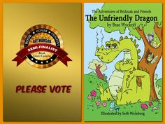 Congratulations to Brae Wyckoff on his semi-finalist nomination for the book cover of THE UNFRIENDLY DRAGON