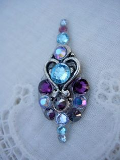 Love Bindi  swarovski belly dance tribal crystal by KuhlJewels, $16.00