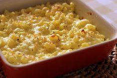 Pitadinha: Mac'n'cheese com couve-flor