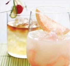 Drink Idea!!   The party is wherever you're drinking punch made with prickly pear syrup, grapefruit juice and tequila.