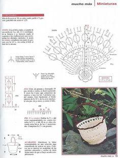 Crochet Vase, Diy Crochet Basket, Crochet Crafts, Crochet Flowers, Crochet Projects, Free Crochet, Bottle Cap Art, Crochet Table Runner, Crochet Decoration