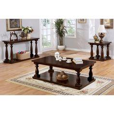Furniture Of America Lynn Country Coffee Table   IDF 4421CH C
