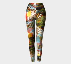 "Super excited to show you my latest design .... ""Caminito""- crazy and colourful, based on the La Boca area of Buenos Aires, Argentina.  Give your legs a hug and head to     www.etsy.com/au/shop/DaisyClaridge Love to know what you think!?"