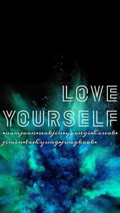 BTS love yourself wallpaper/lockscreen❤