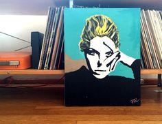 Custom Pop Art Portrait Painting by ThatsHighlyOffensive on Etsy https://www.etsy.com/listing/229496292/custom-pop-art-portrait-painting