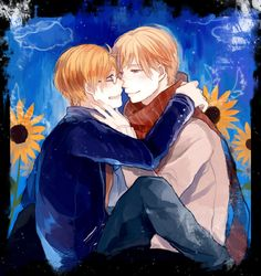 Dream by 八年 -  Hetalia - America / Russia