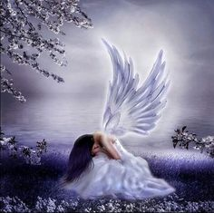 Even angels cry sometimes
