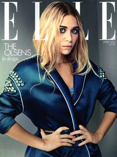 Ashley Olsen on the cover of UK Elle subscription edition