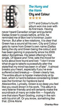 City and Colour MX review 13.6