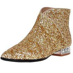 ENMAYER Women's Gold Charming Sequins Style Ankle Boots 1... https://www.amazon.com/dp/B01IJQ4J6W/ref=cm_sw_r_pi_dp_x_Pg7eybTW2T35V