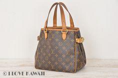 Louis Vuitton Monogram Batignolles Shoulder Tote Bag M51156