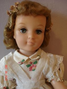 Harriet Hubbard Ayers Doll - All Original with Unused Makeup Basket by Ideal