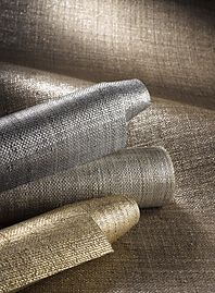This was a style option for wallpaper in your bedroom Phillip Jeffries Wallpaper Collection - Metallic Raffia Metallic Wallpaper, Textured Wallpaper, Wallpaper Collection, Living Room Decor, Bedroom Decor, Room Wallpaper, Wallpaper Lounge, Wallpaper Grasscloth, Linen Wallpaper