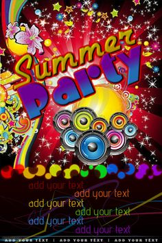 create amazing party flyers by customizing our easy to use templates add your content and