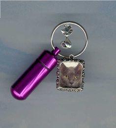 SHS,Key Chain Urn,Pet Urn,Feline,Cat,Dog,Cremation Urn,Cremation Cylinder