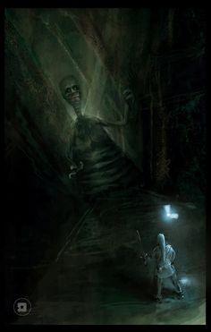 The Legend of Zelda: Shadow Temple by ldamm on deviantArt
