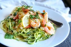 Shrimp Scampi ZoodlesDelish