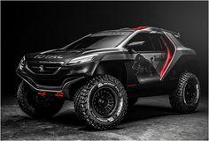 Peugeot 2008 DKR Ready for 2015 Rally Dakar