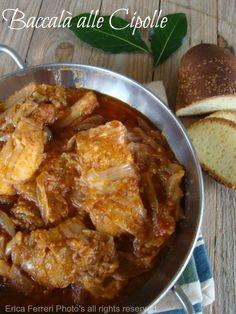 Ogni riccio un pasticcio - Blog di cucina: Baccalà alle cipolle