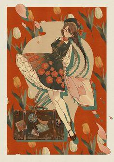 Character Inspiration, Character Art, Character Design, Japanese Illustration, Illustration Art, Kawaii, Manga Art, Anime Art, Art Sketches