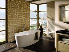 Mit der freistehenden Badewanne Tao von Camargue verleihen Sie Ihrem Bad eine ganz besondere Eleganz. Lassen Sie Ihren Alltagsstress hinter sich und genießen Sie eine gemütliche Körperpflege im Stillen.