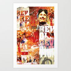 REVOLUTION Art Print by mayavisual - $12.48