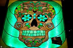 Stained Glass Skull by SmittyImagingLtd, via Flickr