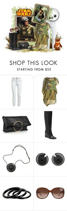 """Leia"" by leanne-mcclean ❤ liked on Polyvore featuring Christopher Kane, Orien Love, Disney, Victoria Beckham, Tory Burch, VOJD Studios, Furla and Gucci"