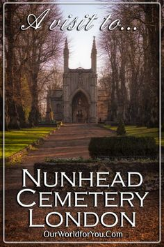 """Take a peaceful, historical stroll around Nunhead cemetery one of London's """"Magnificent Seven"""" and discover the fascinating lives behind the headstones. You Are The World, Our World, Kent Coast, Highgate Cemetery, London Landmarks, Laundry Hacks, Enjoy Summer, River Thames, Freaking Awesome"""